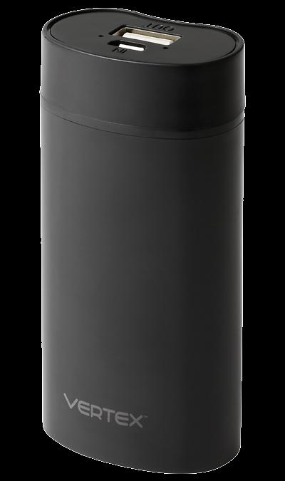 Аккумулятор Vertex Slim line, Li-Ion, 5000 мАч, черный